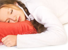 Healthy dreams Stock Image
