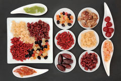 Healthy Dried Fruit Royalty Free Stock Photo