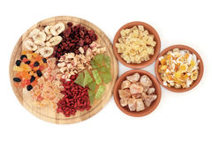 Healthy Dried Fruit Royalty Free Stock Photos