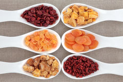 Healthy Dried Fruit Stock Photo