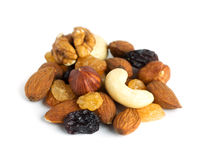 Healthy dried fruits Stock Photo