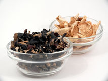Healthy dried mushrooms Royalty Free Stock Photo