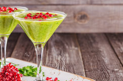 Healthy drink, vegetable smoothie Royalty Free Stock Photography