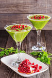 Healthy drink, vegetable smoothie Stock Image