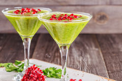 Healthy drink, vegetable smoothie Royalty Free Stock Photos
