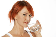 Healthy drinking Royalty Free Stock Images