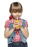 Healthy drinking Royalty Free Stock Photography