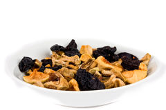 Healthy dry fruit in Bowl Stock Image