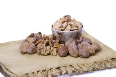 Healthy dry fruits Stock Image