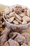 Healthy dry fruits Royalty Free Stock Photos