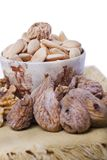 Healthy dry fruits Stock Photography