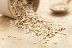 Healthy Dry Oatmeal Stock Image