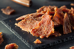Healthy Dry Turkey Jerky Royalty Free Stock Images