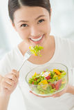 Healthy eater Royalty Free Stock Images