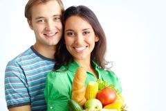 Healthy eaters Stock Photo