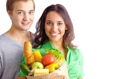 Healthy eaters Stock Photography