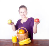 Healthy eating Stock Photography