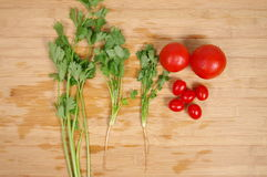Healthy Eating / Assortment of Organic Vegetables Stock Images