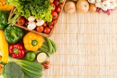 Healthy eating background Stock Photography