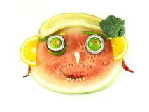 Healthy eating for children Royalty Free Stock Image