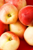 Healthy eating concept. Close up of nectarines Royalty Free Stock Photos