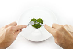 Healthy eating concept Stock Image