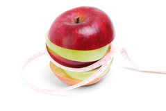 Healthy eating and diet concept: Royalty Free Stock Images
