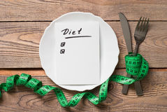 Healthy eating and Diet concept Royalty Free Stock Image
