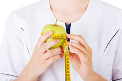 Healthy eating or diet concept. Stock Photos