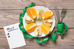 Healthy eating and Diet concept Stock Images