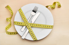 Healthy eating or dieting concept. Royalty Free Stock Photos