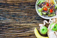 Healthy eating, dieting. slimming and weight loss concept - clos Stock Image