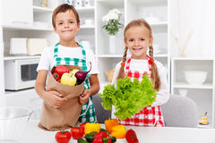 Healthy eating education Royalty Free Stock Photos