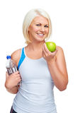 Healthy eating exercise Royalty Free Stock Photography