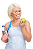 Healthy eating exercise Royalty Free Stock Photo