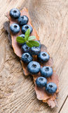 Healthy eating fresh berry.Blueberry. Stock Photography