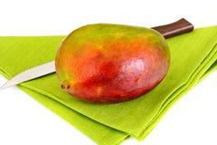 Healthy eating: Fresh juicy fruit, ripe Mango. Royalty Free Stock Photos