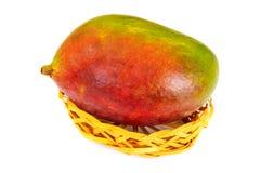 Healthy eating: Fresh juicy fruit, ripe Mango. Stock Images