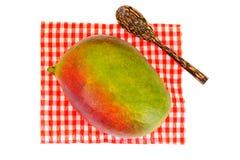 Healthy eating: Fresh juicy fruit, ripe Mango. Royalty Free Stock Photo