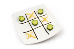 Healthy Eating Game Stock Images