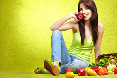 Healthy eating, healthy life Stock Photos