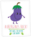 Healthy eating illustration based on simple fold style character Royalty Free Stock Photos