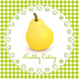 Healthy eating illustration Stock Image