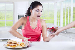 Healthy Eating And Lifestyle Concept Stock Photo