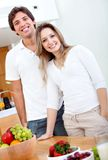Healthy eating people Royalty Free Stock Images