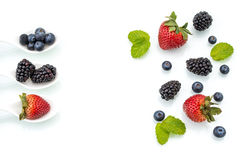 Healthy eating plan, Dieting, berry Stock Images
