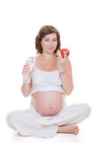 Healthy eating in pregnancy Royalty Free Stock Photo