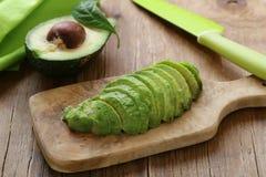 Healthy eating - ripe avocado Stock Photo