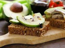 Healthy eating - ripe avocado Royalty Free Stock Photos