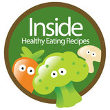 Healthy Eating Sticker Stock Photos